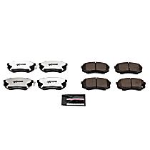 Z36-735 Front Z36 Truck Carbon-Fiber Ceramic Brake Pads with Stainless-Steel Hardware Kit