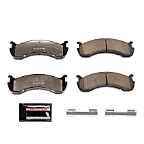 Z36-786A Front OR Rear Z36 Truck Carbon-Fiber Ceramic Brake Pads with Stainless-Steel Hardware Kit
