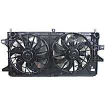 OE Replacement Radiator Fan - Fits 3.4L/3.8L, Excludes Supercharged models