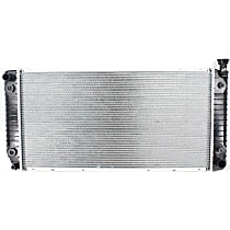 Radiator, 34x17 In. Core, With Engine Oil Cooler
