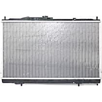 Aluminum Core Plastic Tank Radiator, 14.75 x 25.88 x 1 in. Core Size