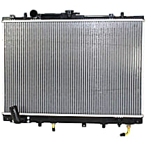 Radiator, 6cyl With Automatic Transmission