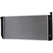 Radiator, 34x17 in., Without Engine Oil Cooler