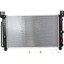 Radiator, 4.8L/5.3L, 28x17 Core, Without Rear Air
