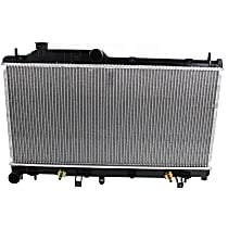 Radiator, 4cyl Non-Turbo, With Auto Transmission