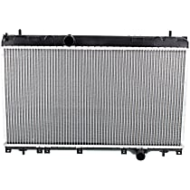 Radiator, Fits Turbo with Manual Transmission only