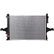 Radiator, Fits Automatic Transmission
