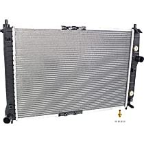 Radiator, With Factory Air Conditioning
