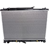 Radiator, Without Tow Package or AWD