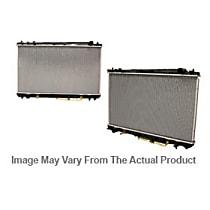 Aluminum Core Plastic Tank Radiator, 30.5 x 17.25 x 1 in. Core Size