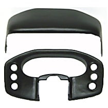 Cap Instrument Panel Cover - Black, ABS Plastic, Sold individually