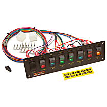 Painless 50201 Toggle Switch Panel - Universal