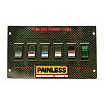 Painless 50430 Toggle Switch Panel - Direct Fit