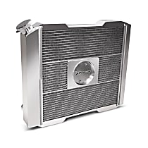 69580-17 Aluminum Core Aluminum Tank Radiator, 17 in. H x 17 in. W x 2.4 in. Thickness Core Size