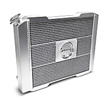 69580-19 Aluminum Core Aluminum Tank Radiator, 17 in. H x 19 in. W x 2.4 in. Thickness Core Size