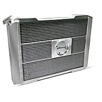 69580-21 Aluminum Core Aluminum Tank Radiator, 17 in. H x 21 in. W x 2.4 in. Thickness Core Size