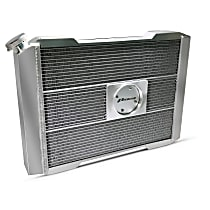 Aluminum Core Aluminum Tank Radiator, 17 in. H x 21 in. W x 2.4 in. Thickness Core Size