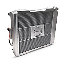 69590-17 Aluminum Core Aluminum Tank Radiator, 17 in. H x 17 in. W x 2.4 in. Thickness Core Size