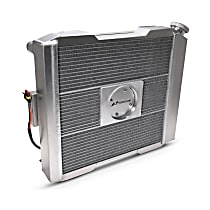 Aluminum Core Aluminum Tank Radiator, 17 in. H x 17 in. W x 2.4 in. Thickness Core Size