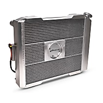 Aluminum Core Aluminum Tank Radiator, 17 in. H x 19 in. W x 2.4 in. Thickness Core Size