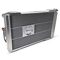 Aluminum Core Aluminum Tank Radiator, 17 in. H x 26 in. W x 2.4 in. Thickness Core Size