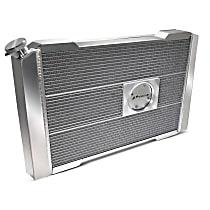 69605.2 Aluminum Core Aluminum Tank Radiator, 17 in. H x 27 in. W x 2.4 in. Thickness Core Size