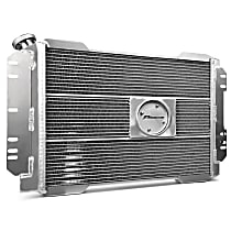 69695.1 Aluminum Core Aluminum Tank Radiator, 17 in. H x 22 in. W x 2.4 in. Thickness Core Size