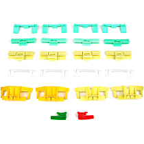 Molding Clip - Direct Fit, Set of 22