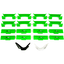 Molding Clip - Direct Fit, Set of 16
