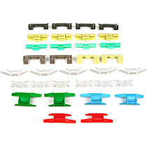 Molding Clip - Direct Fit, Set of 33