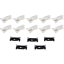Molding Clip - Direct Fit, Set of 15