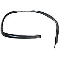 Windshield Molding - Black, Direct Fit, Sold individually