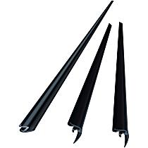 Precision Parts WKT D1195 Windshield Molding - Direct Fit, Kit