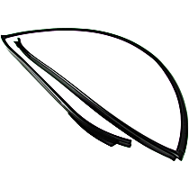 Windshield Molding - Direct Fit, Sold individually