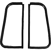 VWK 1110 55 Roof and Top Weatherstrip Seal - Glass Weatherstrip, Kit