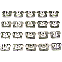 PCK-1101-68 Molding Clip - Direct Fit, Set of 20