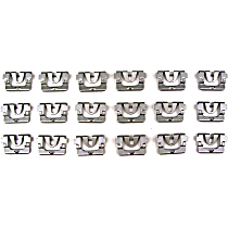 Molding Clip - Direct Fit, Set of 18