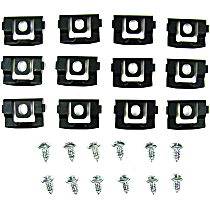 Molding Clip - Direct Fit, Set of 12