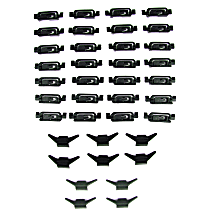 PCK-459-83 Molding Clip - Direct Fit, Set of 38
