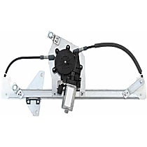 82348805 Rear Drive Side Window Regulator with Motor - Replaces OE Number 32-019-496