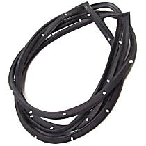 Front, Driver Side Door Molding and Beltlines