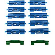 PCK-2218-01 Molding Clip - Direct Fit, Set of 12