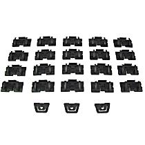 PCK-429-82 Molding Clip - Direct Fit, Set of 23