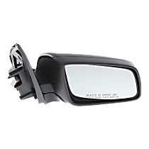 Mirror - Passenger Side, Power, Folding, Chrome