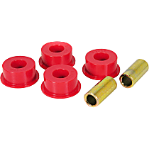 1-1202 Track Rod Bushing - Red, Polyurethane, Direct Fit