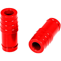 Prothane 1-1302 Front Bump Stop - Red, Polyurethane, Direct Fit, Set of 2