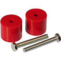 Prothane 1-1707 Rear Bump Stop - Red, Polyurethane, Direct Fit, Set of 2