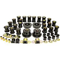 12-2002-BL Master Bushing Kit - Black, Polyurethane, Direct Fit, Kit