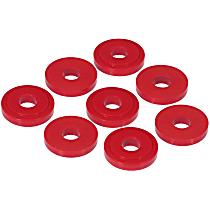 13-1601 Shifter Bushing - Red, Polyurethane, Direct Fit, Set of 8