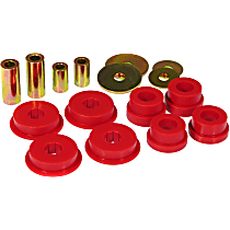 13-1610 Differential Carrier Bushing - Red, Polyurethane, Direct Fit